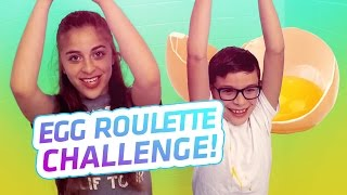 Egg Roulette Challenge | Baby Ariel