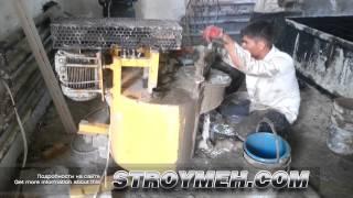Изготовление пеноблоков самостоятельно