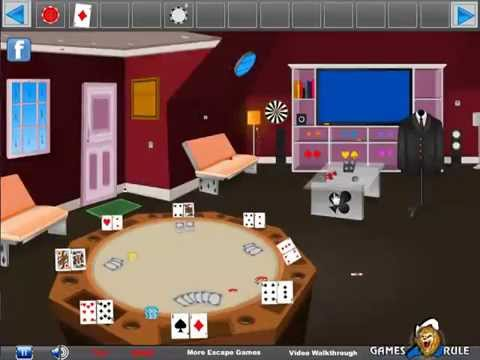 Poker house escape video walkthrough youtube for Minimalist house escape 2 walkthrough