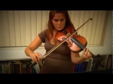 Aileen Tinley Robertson - Vivaldi Concerto in A minor, 3rd movement