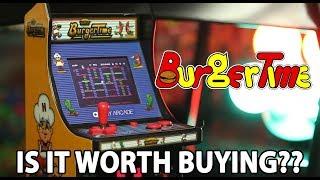 The Burgertime Mini Arcade Review