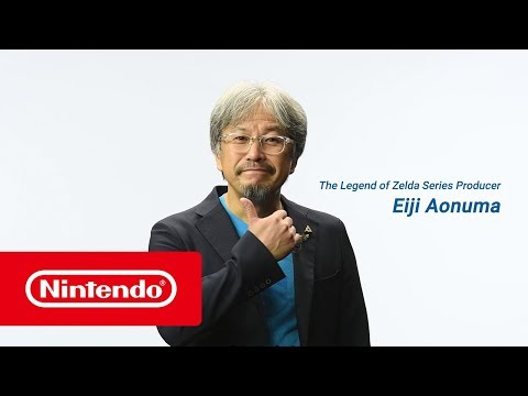 The Legend of Zelda: Breath of the Wild - Special message from Eiji Aonuma