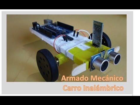 Construcción Mecánica Carro Inalambrico