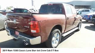 2019 Ram 1500 Classic Midland TX KS636232