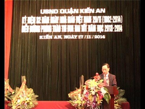 Quận tổ chức kỷ niệm 32 năm ngày Nhà giáo Việt Nam