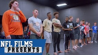 Competing in Dance to Improve in Football   NFL Films Presents