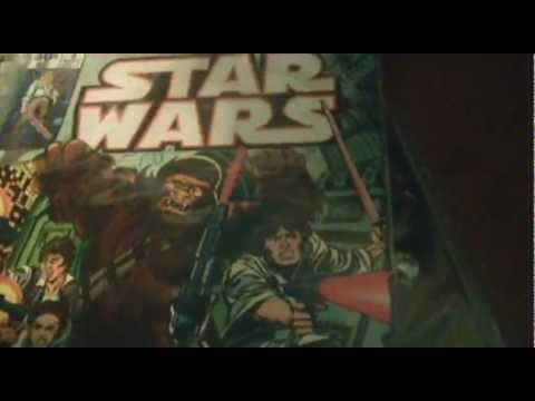 Star Wars Comic books and books!!!!