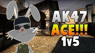 CSGO AK47 ACE!!!! SHORT MOVIE #Pikachu*