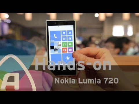 Nokia Lumia 720 hands-on/preview (Dutch)
