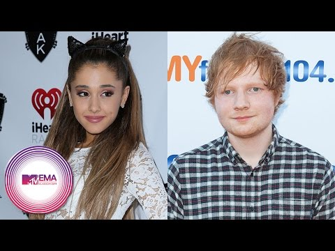 Ariana Grande & Ed Sheeran to Perform at 2014 MTV EMAs