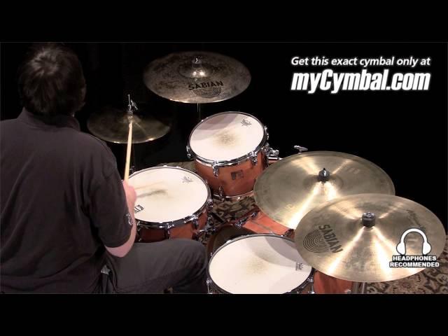 "Used Sabian 18"" David Garibaldi Signature Jam Master Crash Ride Cymbal (US18DGJMCR-1100912C)"