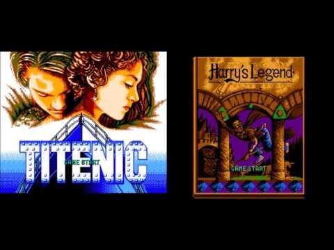 Titenic/Harry's legend (NES) ost -  level 1,2,3 (T) level 2,4,5 (HL)