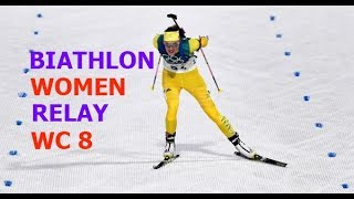 BIATHLON MEN RELAY 18.03.2018 World Cup 8 Holmenkollen (Norway)