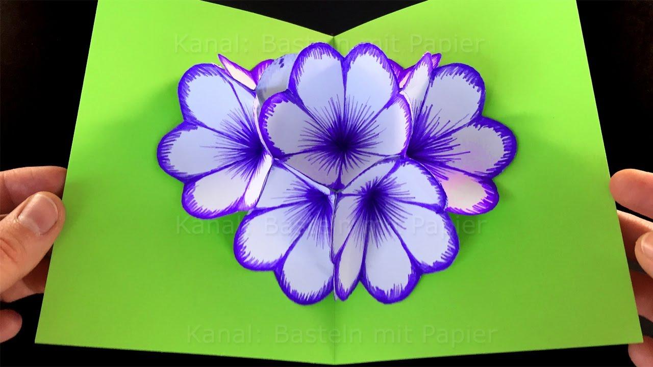 Модели цветов из бумаги