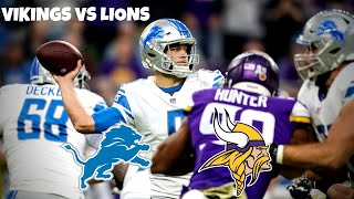 Vikings Vs Lions Preview/Prediction! Stephen A Smith? Detroit Lions Talk