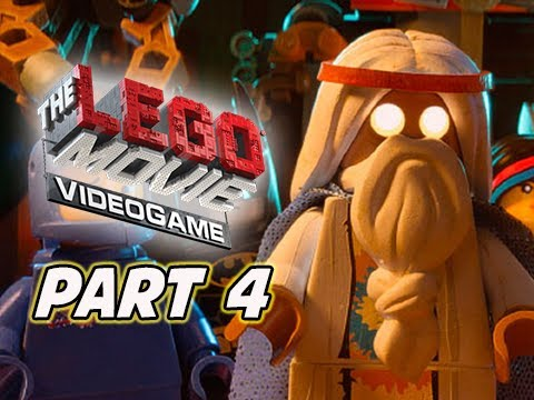 The LEGO Movie Videogame Walkthrough Part 4 - Flatbush Gulch (PS4 XBOX ONE Gameplay)