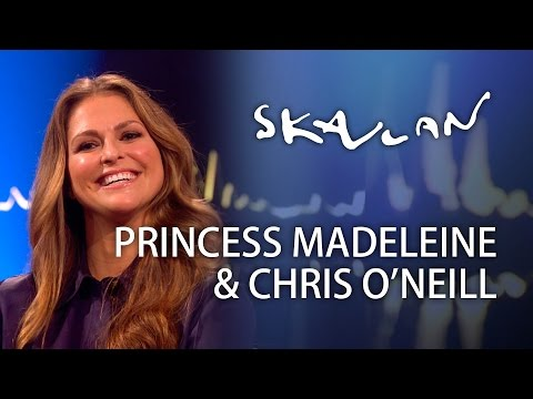 "Princess Madeleine & Chris O'Neill - ""I'm a terrible housewife"" | Skavlan"