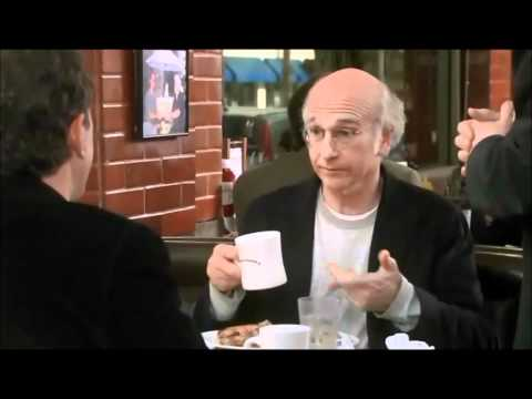 Curb your Enthusiasm - Larry David and Jerry Seinfeld at lunch