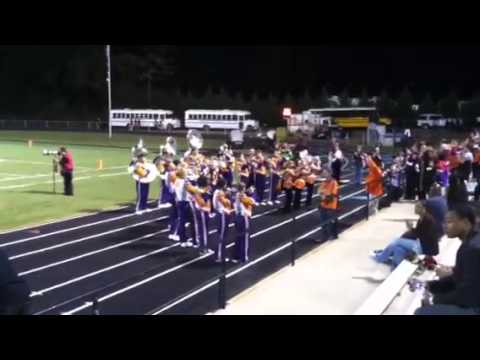 CLEMSON Band members at Westside High School Anderson, SC