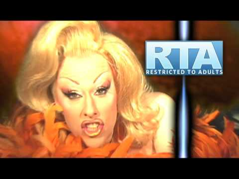 "Chi Chi LaRue RTA ""Restricted To Adults"" PSA"