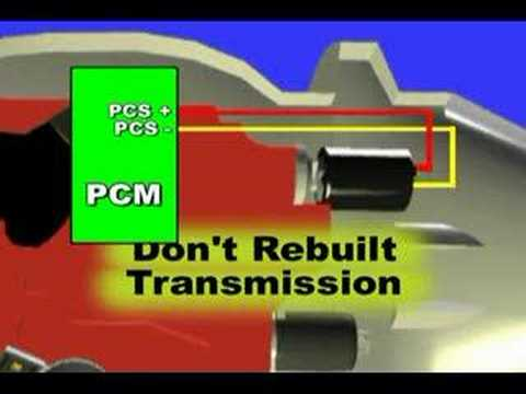 Transmission Pressure Control Solenoid (PCS) - YouTube