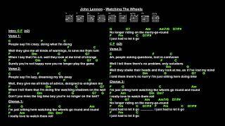 John Lennon - Watching The Wheels (Jam Track)