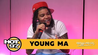 Young MA on Haters, Kodak Black + Set it Off