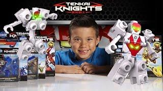 TENKAI KNIGHTS - Ionix Mini Figures & Titan Figures! Review & Unboxing [EvanTubeHD CLASSIC WEEK]
