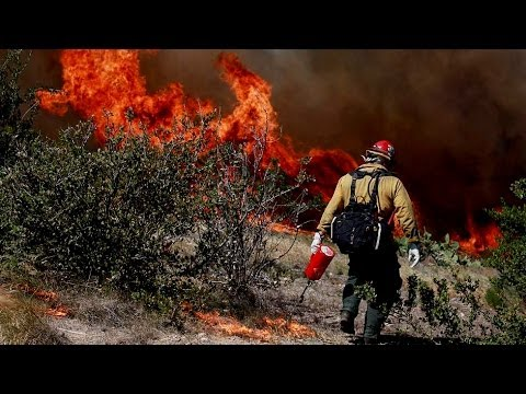 San Diego County Fires: 9 Wildfires Burn, Thousands Flee Southern California Wildfires
