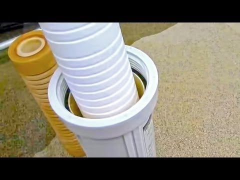 How To Replace Rv Water Filters Youtube