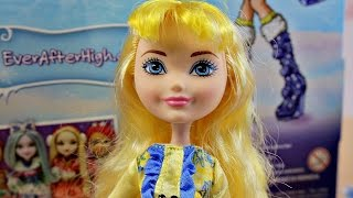 Zima Wszech Baśni - Ever After High - Blondie Lockes z nowej bajki - DKR66 DKR62 - Unboxing