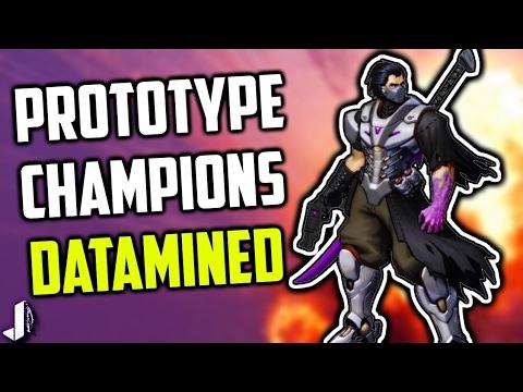 Prototype New Champions - Wallrunner Stoker & More Paladins