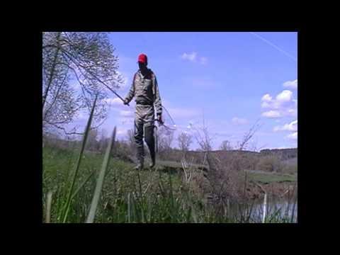 рыбалка у понтонного моста иж
