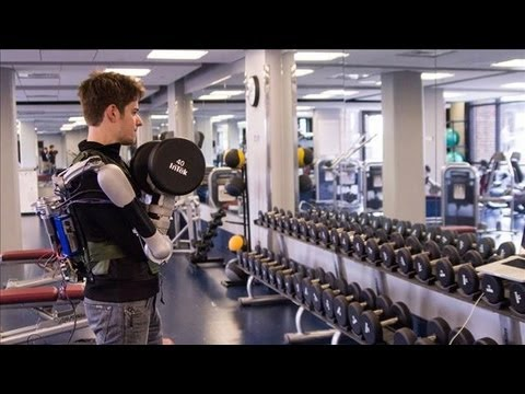 Students Build Award-Winning Robot Exoskeleton