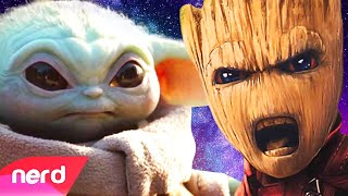 Baby Yoda vs Baby Groot Rap Battle | #NerdOut