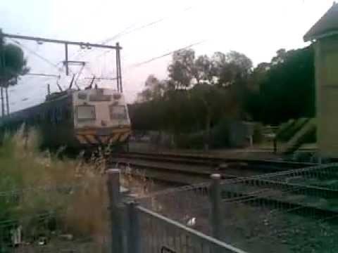 Melbourne Hitachi Train - Clifton Hill