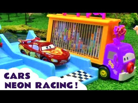Cars Neon Racers Racing Peppa Pig Play Doh Frozen Thomas The Tank Engine Dora The Explorer Spiderman