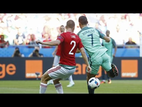Cristiano Ronaldo marcó de taco el mejor gol de la Eurocopa  2016 | Portugal vs Hungría