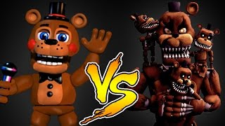 Minecraft - NOOB VS PRO (Freddy Fasbear Challenge Games)