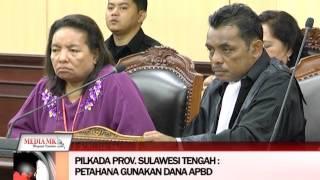 11 01 16 Sengketa Pilkada Kep  Aru,Kab  Seram Bag Timur, Prov  Sulawesi Tengah, Kab  Banggai, Kab  M