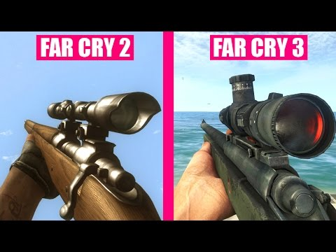 Far Cry 3 Gun Sounds vs Far Cry 2