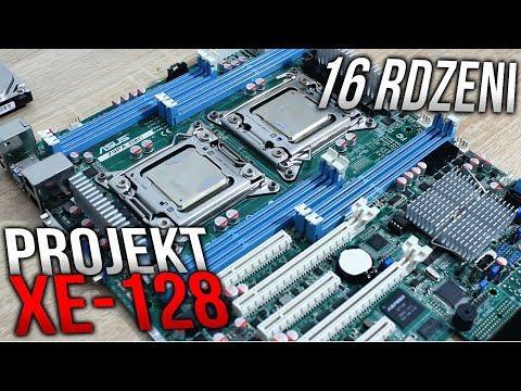 16 RDZENI, 128GB RAM - KOMPUTER POTĘGA - Projekt XE-128