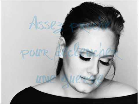 Adele - turning tables - traduction française