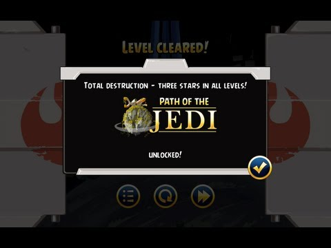 Angry Birds Star Wars - How to Unlock Jedi for Free in 2013. Path of the Jedi on Android