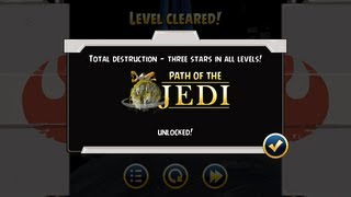 Angry Birds Star Wars - How to Unlock Jedi for Free in 2013, Path of the Jedi on Android
