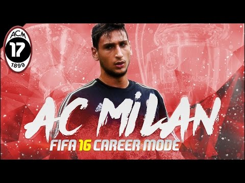 FIFA 16 | AC Milan Career Mode Ep17 - THE CHAMPIONS LEAGUE RACE!!