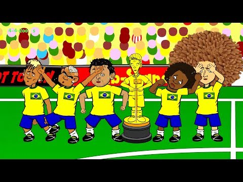 🇧🇷BRAZIL vs MEXICO 0-0🇧🇷 by 442oons (Brazil crying during national anthem 17.6.14)