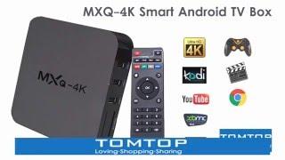 MXQ-4K Smart Android TV Box