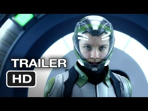 Ender's Game Official Trailer #2 (2013) - Asa Butterfield, Harrison Ford Movie Hd video