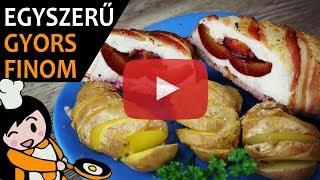 Szilvával Töltött Csirkemell - Recept Videók